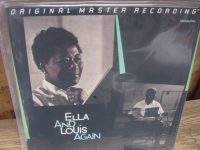 """Ella Fitzgerald & Louis Armstrong, Ella And Louis Again - Double MFSL 200 Gram LP"" - Product Image"