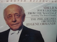 """Eugene Ormandy & The Philadelphia Orchestra, Sibelius - MFSL LP"" - Product Image"