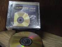 """MFSL Ultradisc CD-R - Five Gold CDs in Package"" - Product Image"