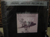 """Shelly Manne, Songs From My Fair Lady - MFSL Aluminum CD"" - Product Image"
