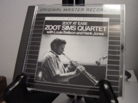 """Zoot Sims Quartet, Zoot At Ease - Mint MFSL Aluminum CD"" - Product Image"