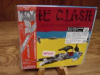 """The Clash, Give 'Em Enough Rope -OBI Mini LP Replica In A CD"" - Product Image"