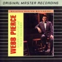 """Webb Pierce, Sands of Gold/Sweet Memories - MFSL Sealed Aluminum CD"" - Product Image"