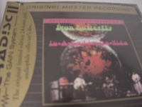 """Iron Butterfly, In-A-Gadda-Da-Vida - Factory Sealed MFSL Gold CD - With  J-Card"" - Product Image"