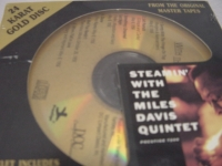 """Miles Davis Quintet - Steamin' - Factored Sealed DCC Gold CD"" - Product Image"