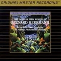 """Bernard Herrmann, The Fantasy Film World Of - Factory Sealed MFSL Gold CD"" - Product Image"