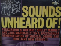 """Shelly Manne, Sounds Unheard Of - 180 Gram - CURRENTLY OUT OF STOCK"" - Product Image"