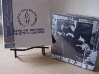 """The Style Council, Keep On Burning Box Set witih bonus box of Our Favorite Shop"" - Product Image"