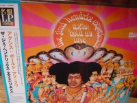 """Jimi Hendrix, Axis Bold As Love - Japan Pressed OBI 200 Gram Stereo LP"" - Product Image"