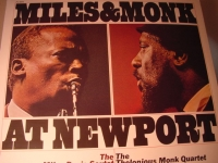 """Miles Davis & Thelonious Monk, Live At Newport "" - Product Image"