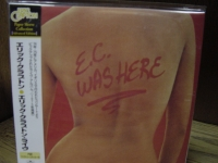 """Eric Clapton, E.C. Was Here - Rare Japanese OBI Replica in a Limited CD"" - Product Image"