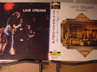 """CREAM, LIVE I & II  - Rare Japanese OBI Replica in a Limited CD"" - Product Image"