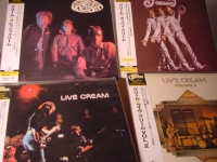 """Cream - Mini LP Replica Set of 4 CDs - Cream Goodbye, Fresh Cream, Cream Live Vol. I & II"" - Product Image"