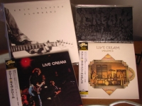"""Eric Clapton, Slowhand Box Set, Wheels of Fire Box Set PLUS Cream Live Vol. 1 & Vol. 2 Replica CDs"" - Product Image"
