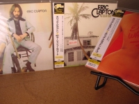 """Eric Clapton - Japanese Replica CD Set of 3 OBIs- 461 Ocean Blvd, ST and E.C. Was Here"" - Product Image"