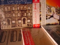 """Led Zeppelin, 4 OBI Set - Physical Graffiti, Houses of the Holy, Coda,  In Thru the Outdoor - Japanese LP Replica in a CD"" - Product Image"
