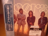 """THE DOORS , WAITING FOR THE SUN -  JAPANESE OBI Mini LP Replica CD - CURRENTLY SOLD OUT"" - Product Image"