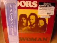 """THE DOORS, L.A. WOMAN -  JAPANESE OBI Mini LP Replica CD"" - Product Image"