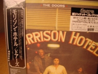 "THE DOORS, Morrison Hotel JAPANESE OBI Mini LP Replica CD"" - Product Image"