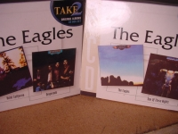 """The Eagles, 2 Double CD Box Sets - Hotel California, Desperado, The Eagles & One Of These Nights"" - Product Image"