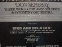 """Dan Sebesky, Three Works for Jazz Soloist (2 LPs)"" - Product Image"