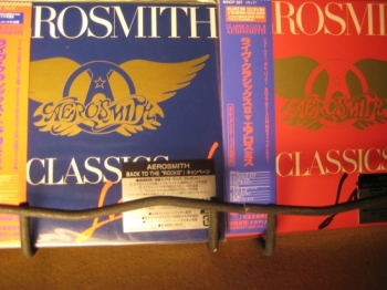 """Aerosmith, Live Volumes I and II - OBI Mini Replica LPs in a CD - 2 CD Set"" - Product Image"