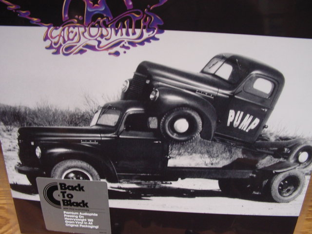 """Aerosmith, Pump - 180 Gram"" - Product Image"