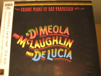 """Al Dimeola, John McLaughlin, Paco Delucia - Friday Night In San Francisco - Product Image"