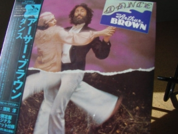 """Arthur Brown, Dance - OBI Mini Replica LP In A CD - Japanese"" - Product Image"