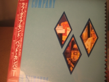 """Bad Company, Rough Diamonds - OBI Mini LP Replica In A CD - Japanese"" - Product Image"