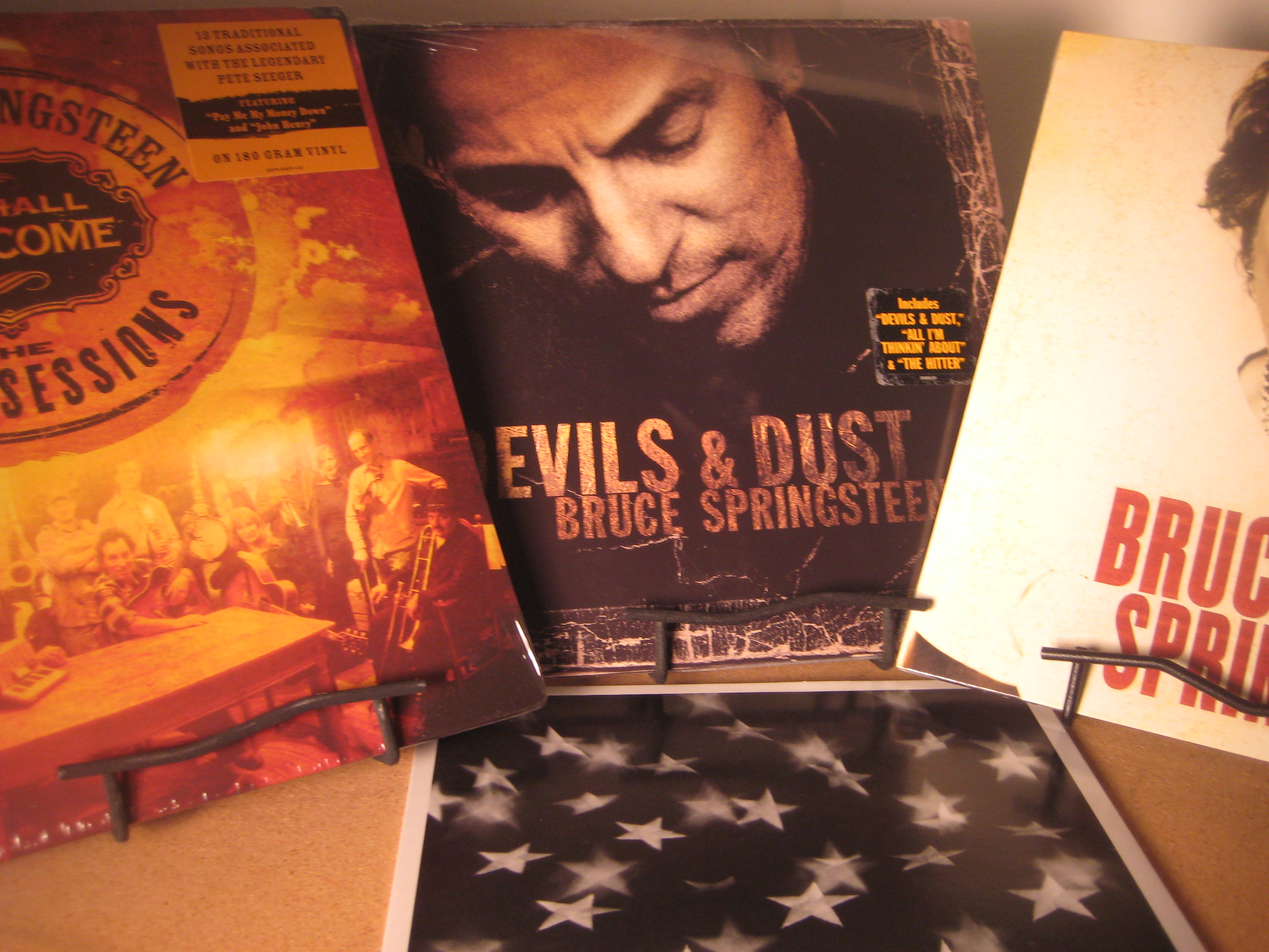"""Bruce Springsteen - 4 Titles - Devis & Dust, Magic, Seger Sessions, and Dream Baby Dream"" - Product Image"