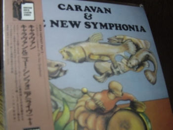 """Caravan, And The New Symphonia - OBI Mini LP Replica In A CD - Liimited Edition - Japanese re-mastered"" - Product Image"