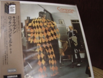"""Caravan, Cunning Stunts - OBI Mini LP Replica In A CD - Limited Edition - Japanese re-mastered"" - Product Image"