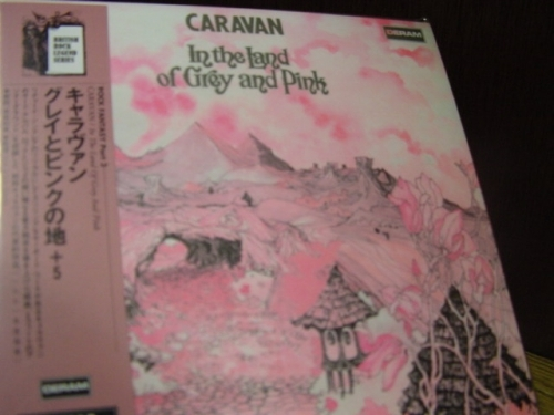 """Caravan, In The Land of Grey & Pink - OBi Mini LP Replica In A CD - Japanese remastered"" - Product Image"
