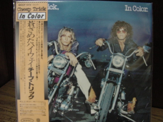 """""""Cheap Trick, In Color -  Mini LP Replica In A CD - Japanese"""" - Product Image"""