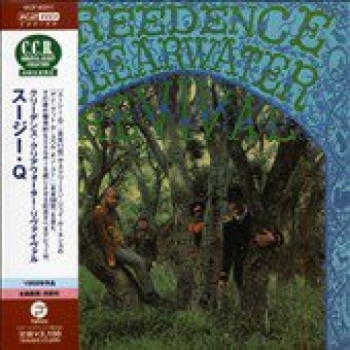 """Creedence Clearwater Revival -  OBI Mini Replica LP In a CD - Japanese"" - Product Image"