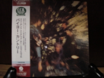 """Creedence Clearwater Revival, Bayou Country - OBI Mini Replica LP In a CD - Japanese"" - Product Image"