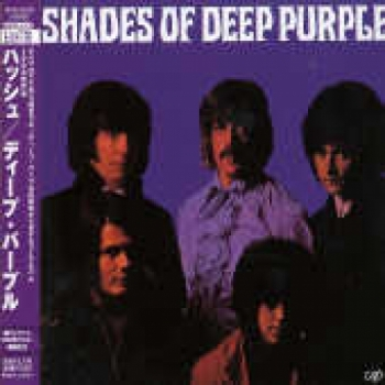 "Deep Purple, Shades of Deep Purple - Japanese Mini LP Replica In A CD"" - Product Image"