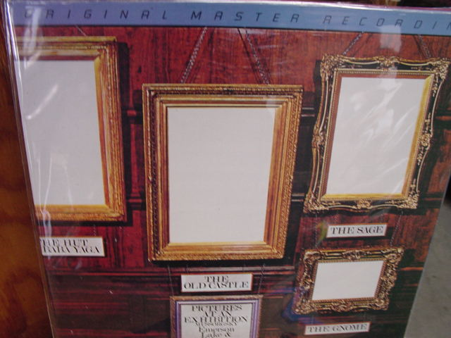 """Emerson Lake & Palmer, Pictures At An Exhibition - Factory Sealed MFSL JVC Half-speed Pressing"" - Product Image"
