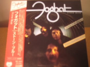 """Foghat, Stone Blue - OBI Mini LP Replica In A CD - Japanese"" - Product Image"