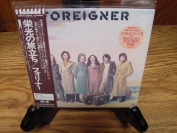 """Foreigner, Self-Titled - OBI Mini LP Replica In A CD - Japanese"" - Product Image"