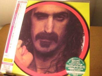 """Frank Zappa, Baby Snakes - OBI Mini LP Replica In A CD - Japanese"" - Product Image"