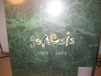 """Genesis, 1970 - 1975 - 5 LP Box Set - 200 Gram - Limited Edition of 1000 Box Sets"" - Product Image"
