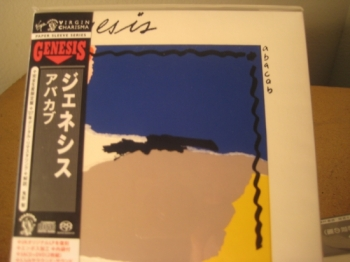 """Genesis, Abacab - OBI Mini LP Replica In A CD - Japanese - Double CD & DVD Set"" - Product Image"