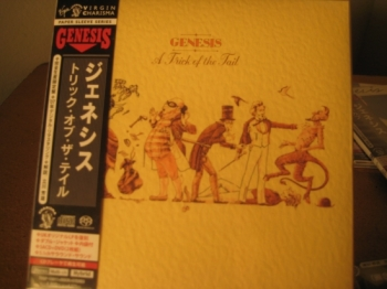 """Genesis, A Trick of the Tail Mini LP Replica In A CD with bonus DVD"" - Product Image"