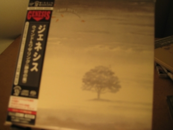 """Genesis, Wind & Wuthering - OBI Mini LP Replica In A CD - Japanese - Bonus DVD"" - Product Image"
