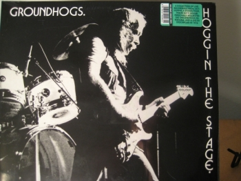 """GroundHogs, Hoggin' The Stage- Double LP - 180 Gram"" - Product Image"