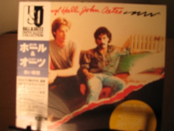 """Hall & Oates, Along The Red Ledge - OBI Mini LP Replica In A CD - Japanese pressed"" - Product Image"