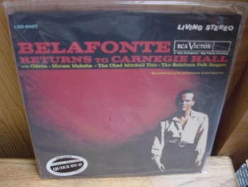 """Harry Belafonte, Returns To  Carnegie Hall (2 LPs) - 200 Gram "" - Product Image"