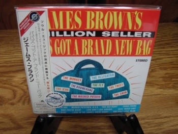 """James Brown, Papa's Got A Brand New Bag - Mini LP Replica In A CD = Japanese"" - Product Image"